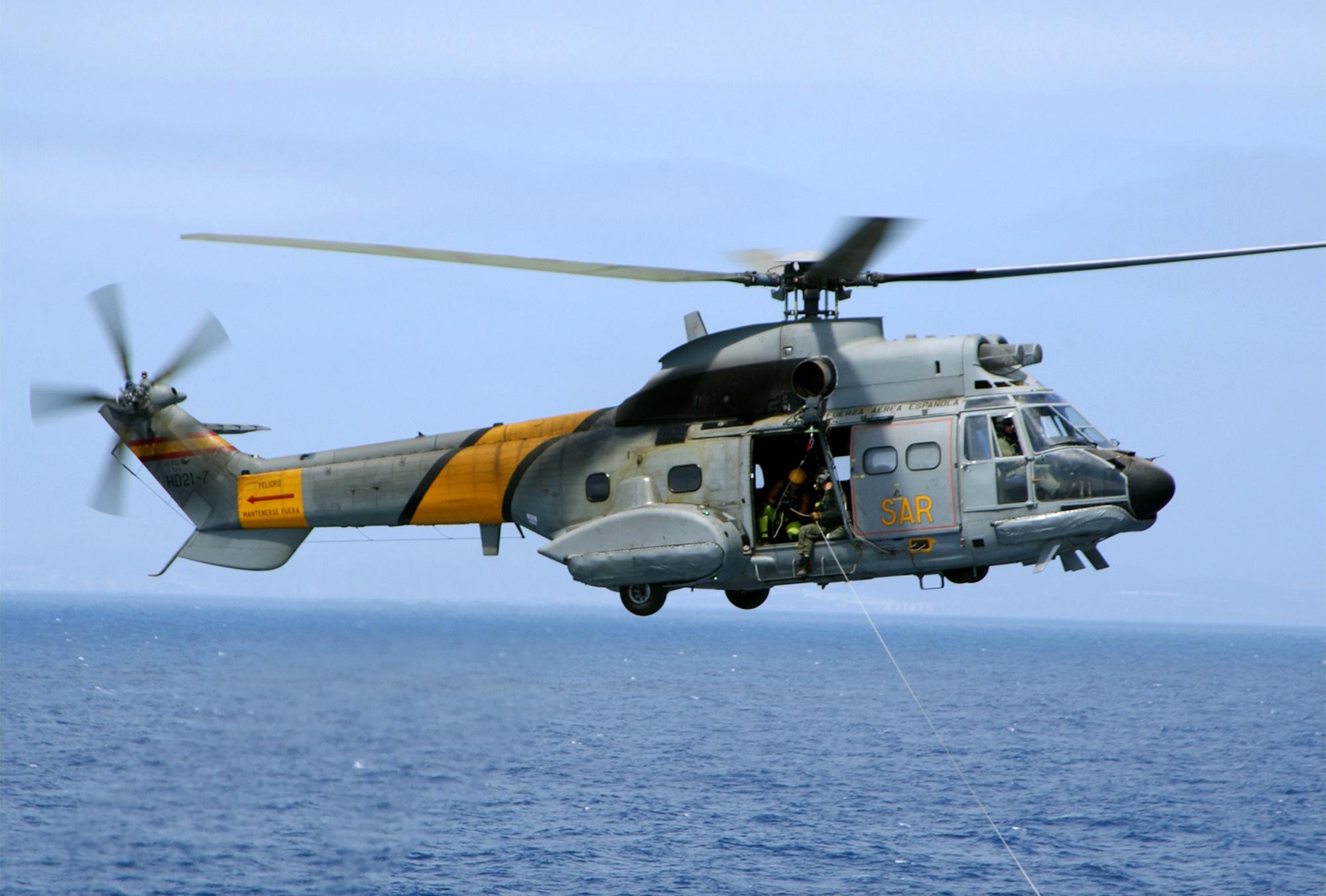 LASD Eurocopter AS332L1 Super Puma N951LB Los Angeles