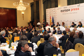 Desayunos informativos de Europa Press