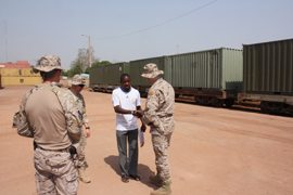 Operación EUTM Malí (European Union Training Mission in Mali)