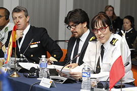 En el Euroforum de El Escorial (Madrid)