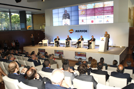 En el Auditorio Campus Repsol