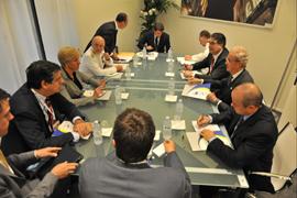 El ministro Morenés y su colega italiana destacan la importancia de la Iniciativa 5+5 para el Mediterráneo