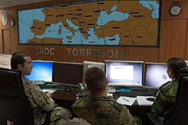 Centro de Operaciones Aéreas Combinadas, en la Base Aérea de Torrejón de Ardoz