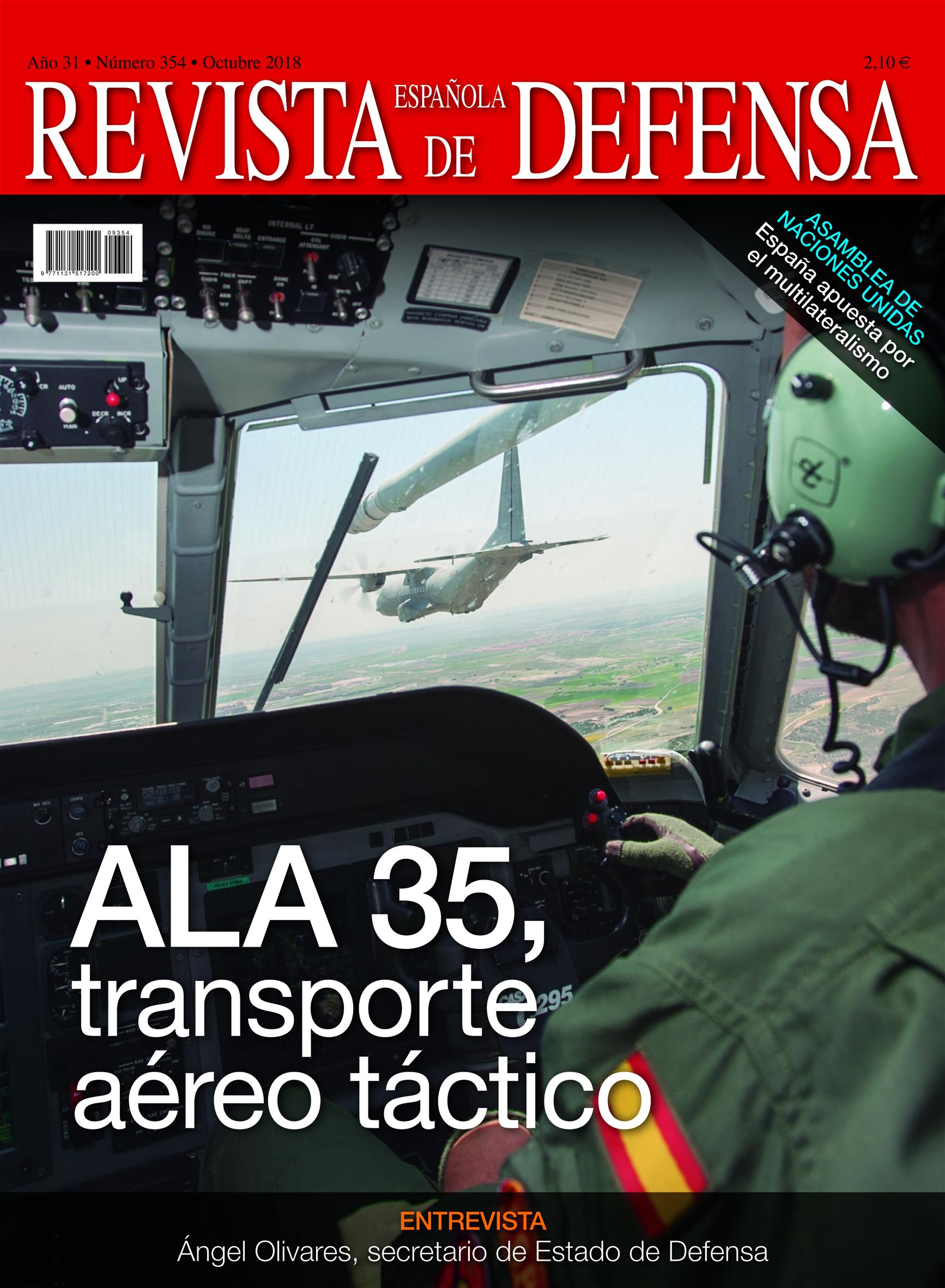 Ala 35, transporte aéreo táctico. RED 354