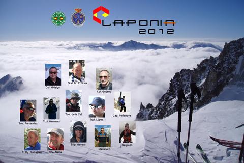 Poster oficial de la Expedición Laponia 2012